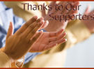 Thank Our Supporters