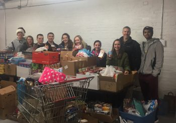 Olmsted Falls High School Student Council Food Drive